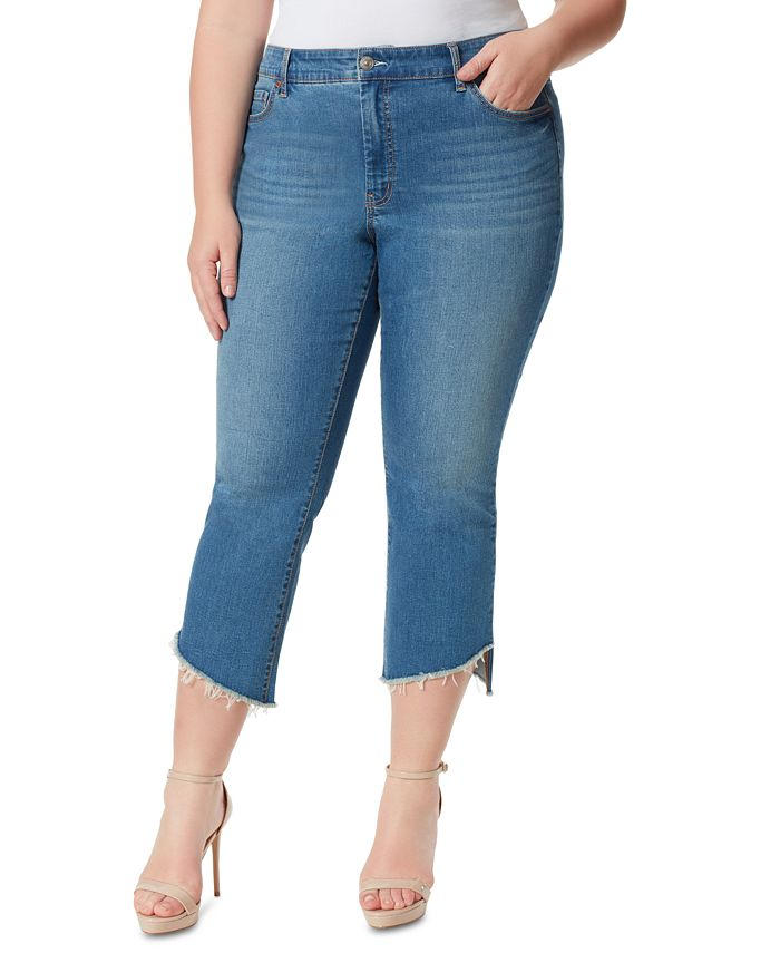 Jessica Simpson - Trendy Plus Size Adored Kick-Flare Jeans