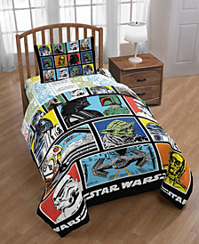 Star Wars Classic Grid Twin Bed Set, 4 Pieces