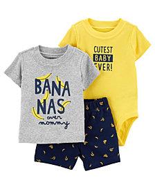 Carter's Baby Boy Banana Little Short Set