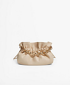 MANGO Women's Chain Bucket Bag