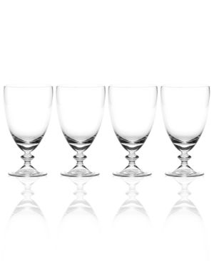 Closeout! Mikasa Set of 4 Ridgefield Clear All Purpose Glasses