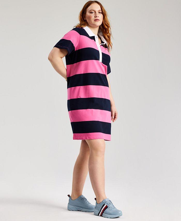 Plus Size Polo T-Shirt Dress