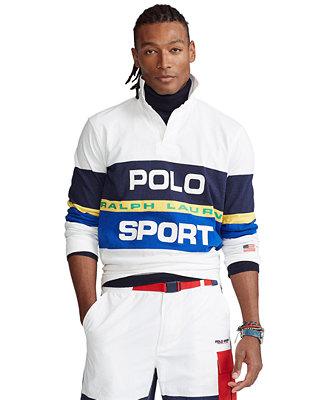 Polo Ralph Lauren Polo Ralph Lauren Men's Classic-Fit Rugby Shirt & Reviews - Casual Button-Down Shirts - Men - Macy's