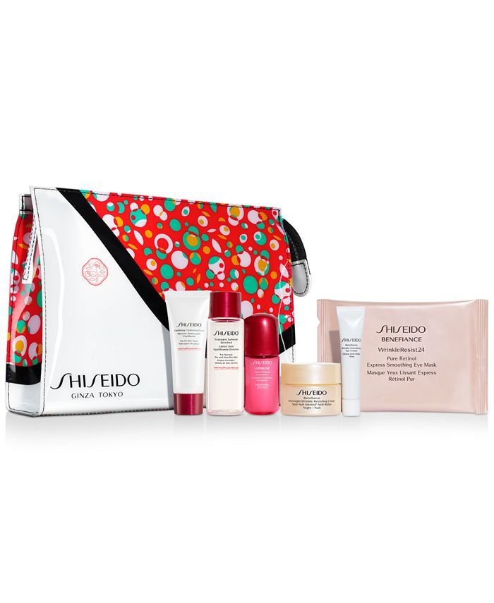 Shiseido - Choose your FREE 7pc Gift with any $85  Purchase (Up to a $124 Value!)*