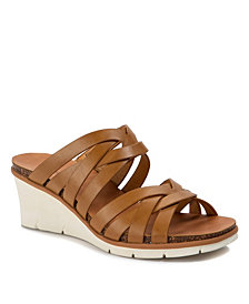 Baretraps Bonnita Strappy Wedge Sandal Slides
