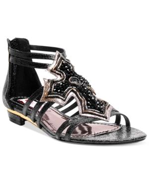 Two Lips Believe Flat Sandals Women's Shoes
