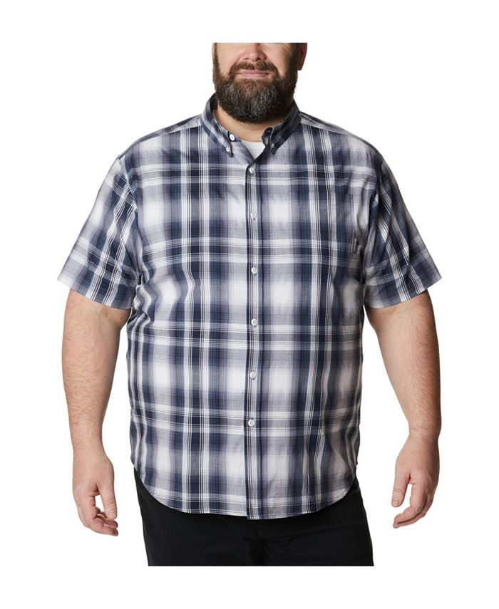Columbia - Men's Big and Tall Rapid Rivers II Plaid Shirt