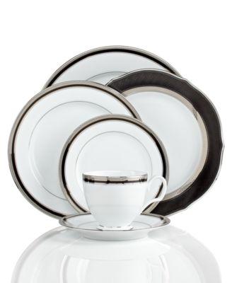 Dinnerware, Austin Platinum Accent Plate