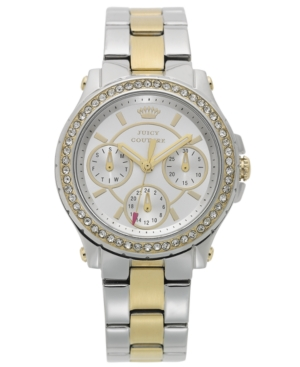 Juicy Couture Women's Pedigree Two-Tone Stainless Steel Bracelet Watch 32mm 1901107