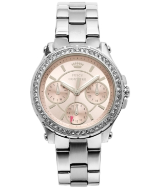 Juicy Couture Women's Pedigree Stainless Steel Bracelet Watch 32mm 1901104