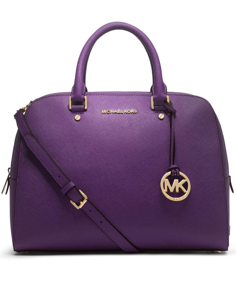 MICHAEL Michael Kors Handbag, Jet Set Large Travel Satchel   Handbags & Accessories