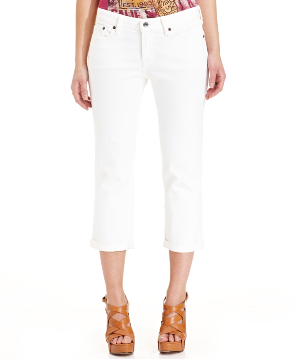 Lucky Brand Cropped Straight Leg Jeans   Jeans   Women
