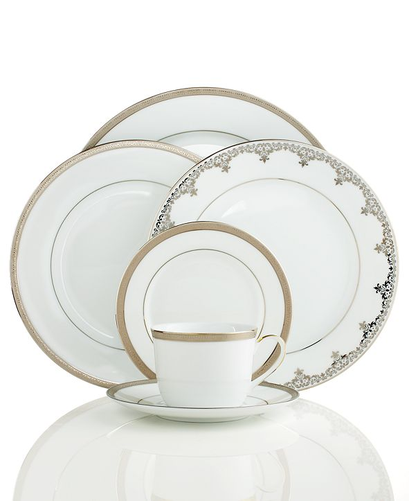 Charter Club CLOSEOUT! Dinnerware, Grand Buffet Platinum Collection