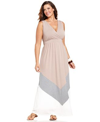 plus size maxi dresses at macy s gallery