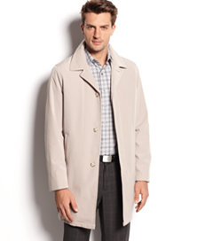 Calvin Klein Single-Breasted Men's Raincoat