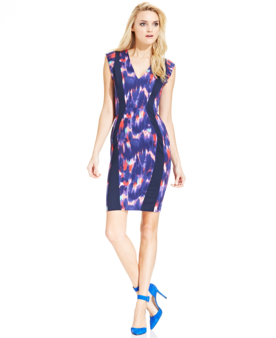 French Connection Printed Sheath Dress   Dresses   Women