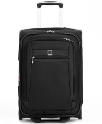"""CLOSEOUT! 60% Off Delsey Helium Hyperlite 21"""" Rolling Carry-On Suitcase, Also Available in Blue, a Macy's Exclusive Color"""