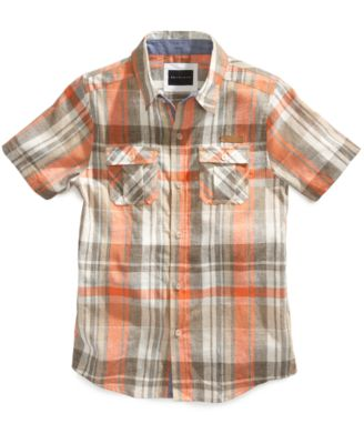 Boys' Eric Plaid Shirt