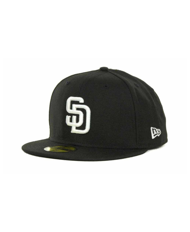 New Era San Diego Padres MLB B-Dub 59FIFTY Cap & Reviews - Sports Fan Shop By Lids - Men - Macy's