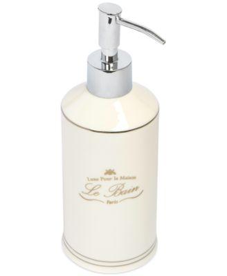 Kassatex Bath Accessories, Le Bain Soap and Lotion Dispenser