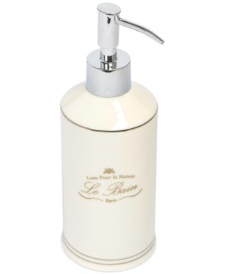 Kassatex Bath Accessories, Le Bain Soap and Lotion Dispenser