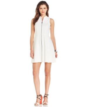UPC 689886183238 product image for Vince Camuto Sleeveless Zip-Front Scuba Dress | upcitemdb.com