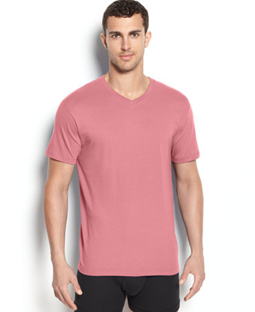 Alfani men 39 s short sleeve v neck t shirt underwear men for Alfani mens shirt size chart