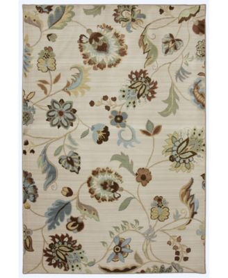 American Rug Craftsmen Serenity Sol Star Butter Pecan 8' x 11' Area Rug