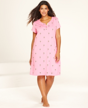 Charter Club Plus Size Sleepshirt