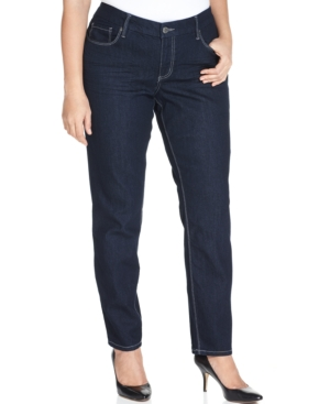 Seven7 Jeans Plus Size Skinny Jeans, Decoy Wash