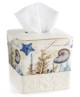 Antigua Tissue Holder
