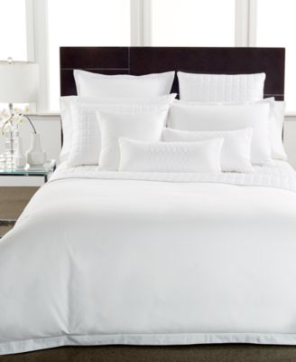 Hotel Collection 600 Thread Count Egyptian Cotton Full/Queen Duvet Cover
