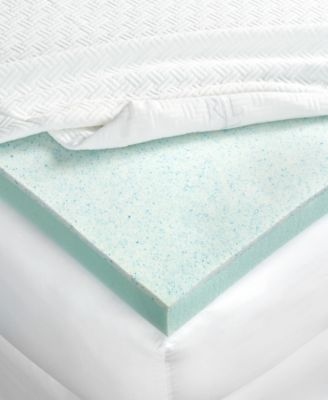Lauren Ralph Lauren 3'' Dual Layer Thermaphase Gel® & Energex Support Foam Queen Mattress Topper