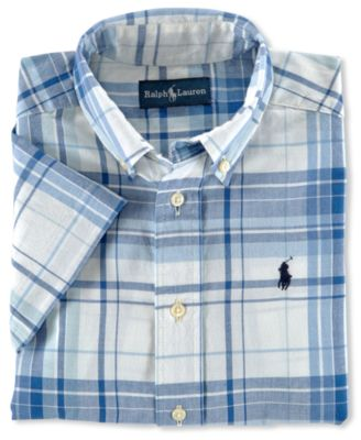 Boys' Blake Madras Shirt