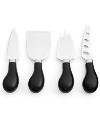 Martha Stewart Collection Set of 4 Cheese Knives, Only at Macy's