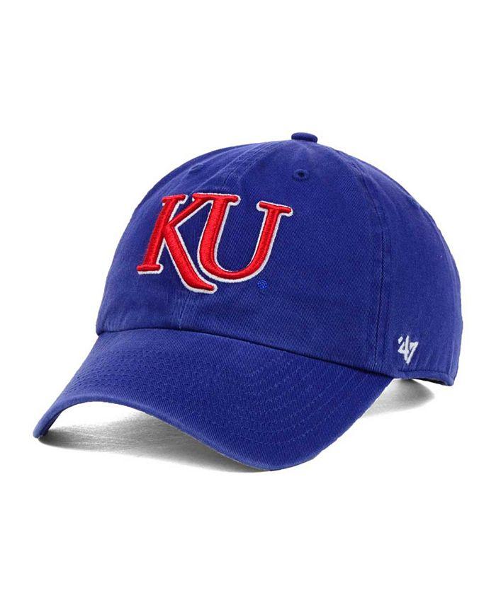 '47 Brand - Kansas Jayhawks Clean-Up Cap
