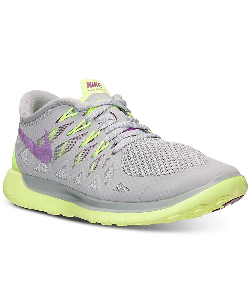 esfuerzo estafa completar  Nike Women's Free 5.0 2014 Running Sneakers from Finish Line & Reviews -  Finish Line Athletic Sneakers - Shoes - Macy's