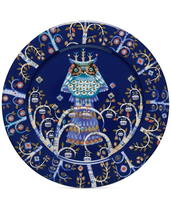 """iittala Blue Taika  Dinner 10.6"""" Plate"""