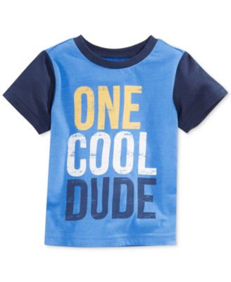 First Impressions Baby Boys' One Cool Dude Tee