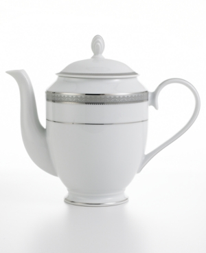 Mikasa Dinnerware, Platinum Crown Coffee Pot