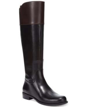 Nine West Cromie Tall Riding Boots Womens Shoes