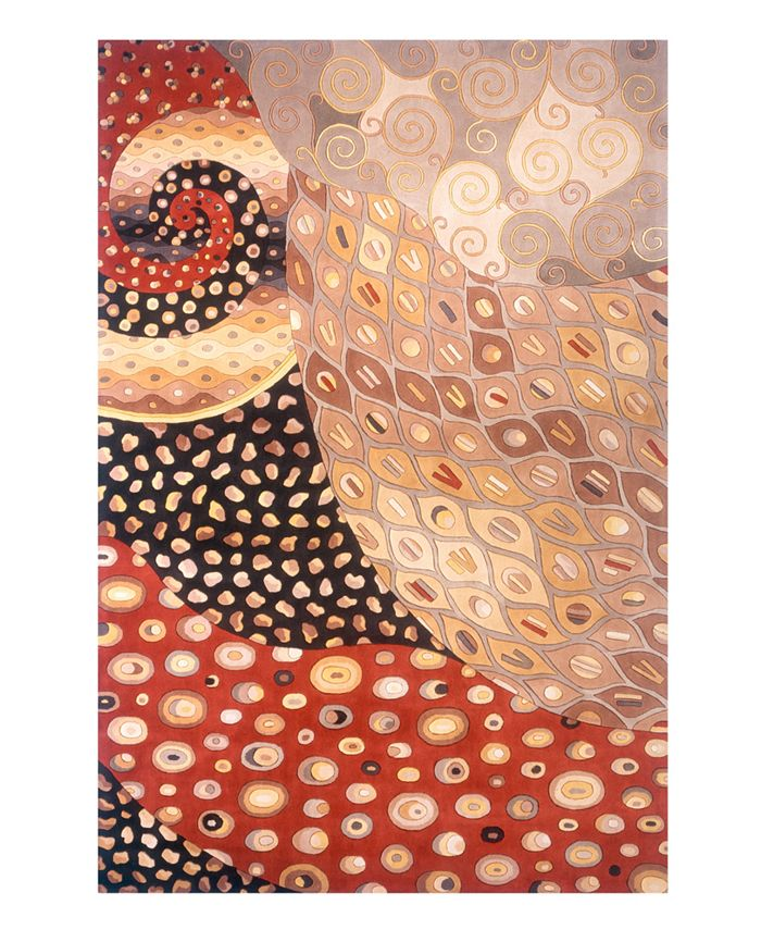 "Momeni - ""New Wave NW-71 Multi"" Area Rug,  2' x 3'"