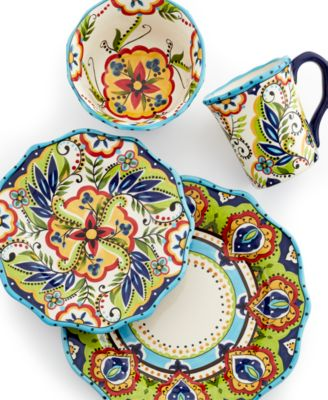 Espana Bocca Scalloped 4-Piece Place Setting