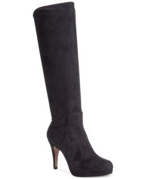 Adrienne Vittadini Premiere Tall Dress Boots Women's Shoes