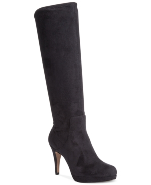 Adrienne Vittadini Premiere Tall Dress Boots Women's Shoes