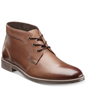 Stacy Adams Cagney Plain Toe Chukka Boots Mens Shoes $52.99 AT vintagedancer.com