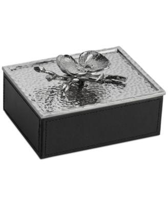 Michael Aram White Orchid Mini Jewelry Box