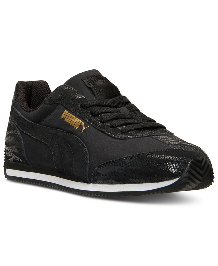 Puma - Women's Rio Speed Animal Casual Sneakers from Finish Line
