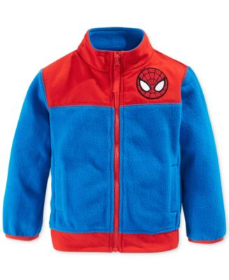 Spider-Man Toddler Boys' Fleece Jacket