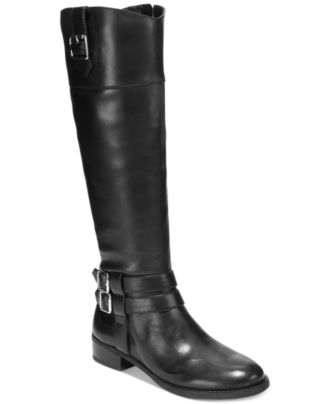 INC International Concepts Fahnee Leather Riding Boots